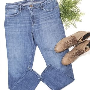 Loft Midrise Relaxed Skinny Jeans Size 12